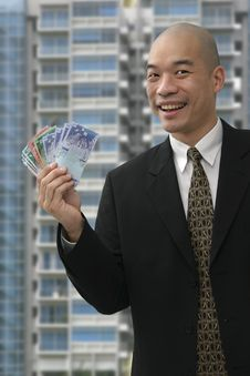 Free Businessman Cash Stock Images - 1032864