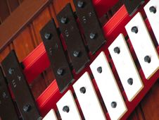 Vintage Xylophone Royalty Free Stock Images