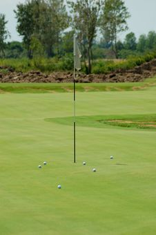 Free Golf Field Stock Photo - 1036150