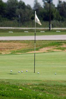Free Golf Field Royalty Free Stock Photos - 1036158