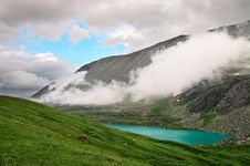 Free Lake And Mountains. Royalty Free Stock Photo - 1036225