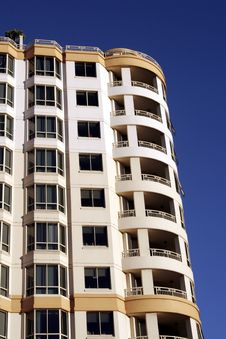 Free Urban Apartment Building Stock Photography - 1036472