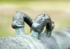 Details Of An Ancient Cannon Royalty Free Stock Photos