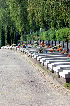 Free Graveyard Royalty Free Stock Photo - 1036795
