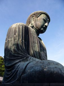 Free Bronze Buddha Statue Royalty Free Stock Photos - 1036798