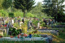 Free Graveyard Royalty Free Stock Photo - 1036805