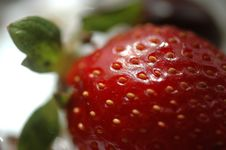Free Strawberry Royalty Free Stock Photo - 1037565