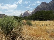 Zion National Park Canyon Valley Stock Photography