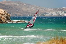 Free Windsurfer Royalty Free Stock Images - 1038689