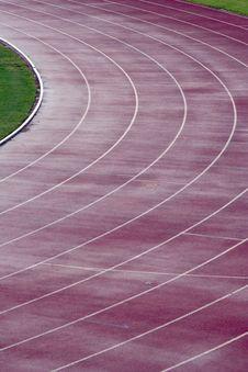 Free Athletics Track Royalty Free Stock Image - 1038726