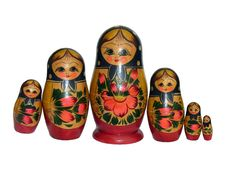 Free Russian Dolls - 9 Stock Photo - 1038810