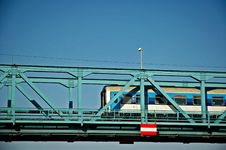 Free Train On The Bridge Royalty Free Stock Photos - 1039498