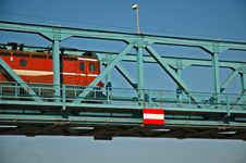 Free Train On The Bridge Royalty Free Stock Photography - 1039697