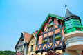 Free Unique European Styled Houses Architecture Stock Image - 10300351