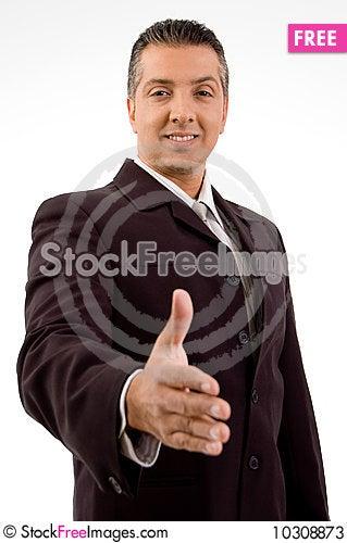 Free Business Handshake Stock Photos - 10308873