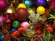 Free Christmas Decorations Royalty Free Stock Image - 10300066
