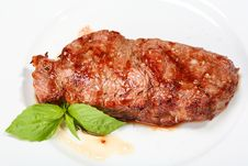 Free Juicy Beef Steak Royalty Free Stock Photography - 10300467