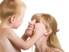 Free Mum With Son Stock Images - 10300754
