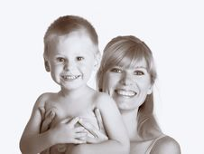 Free Mum With Son Stock Photos - 10300803
