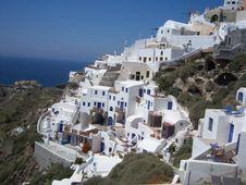 Free Greek Seashore In Santorini Royalty Free Stock Photo - 10300975