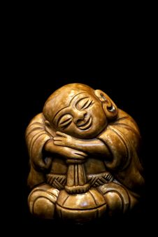 Chinese Buddhist Sculpture Stock Photography