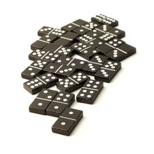 Free Dominoes Royalty Free Stock Image - 10302346