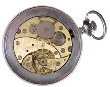 Free Old Watch Mechanism Stock Photography - 10303092