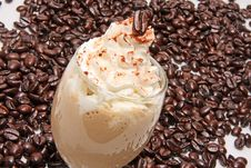 Free Coffee S Cream With Whipped Cream Royalty Free Stock Images - 10303199