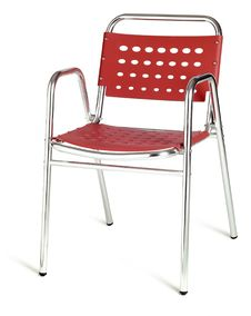 Free Red Cafe Chair Royalty Free Stock Images - 10303499