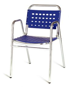 Free Blue Cafe Chair Royalty Free Stock Photo - 10303545