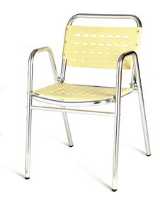 Free Yellow Cafe Chair Stock Photos - 10303663