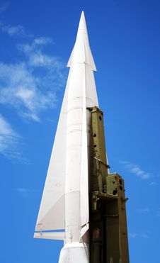 A Hercules Air Defense Missile Stock Photos