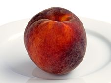 Free Ripe Peach Royalty Free Stock Images - 10304319