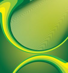 Free Green Abstract Background Royalty Free Stock Photos - 10304338