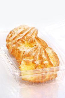 Cream Puff Series 01 Stock Images