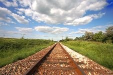 Free Railway Tracks Stock Photography - 10305492