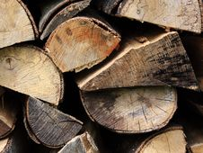 Free Stack Of Wood Royalty Free Stock Photos - 10305638