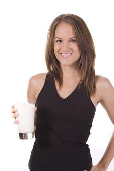 Free Milk Royalty Free Stock Photography - 10305767