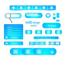 Web Design Elements Royalty Free Stock Images