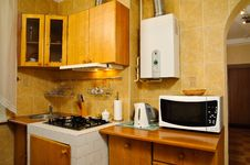 Free Kitchen Interior Royalty Free Stock Photography - 10307337