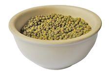 Free Dry Split Peas Royalty Free Stock Photo - 10307815