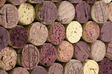 Free Angled Cork Background Royalty Free Stock Photography - 10308037
