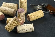 Free Corks And Wine Opener Royalty Free Stock Photos - 10308048