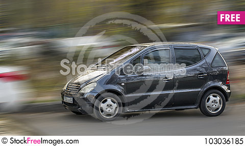 Free Compact Car. Royalty Free Stock Photo - 103036185