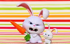 Free Rabbit, Rabits And Hares, Easter, Stuffed Toy Stock Photo - 103080580