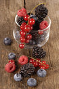 Free Fresh Berries On A Wooden Table Royalty Free Stock Photography - 10316007