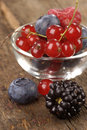 Free Fresh Berries On A Wooden Table Royalty Free Stock Photo - 10316065
