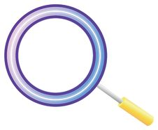 Free Magnifying Glass Royalty Free Stock Photography - 10310037