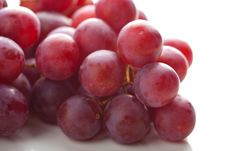 Free Ripe Grapes Isolated Royalty Free Stock Photo - 10311455