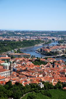 Free Vltava River In Prague. Stock Images - 10311614